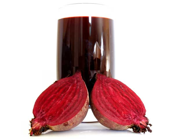 Rödbetsjuice rik på nitrat - bättre erektion med nitrat.