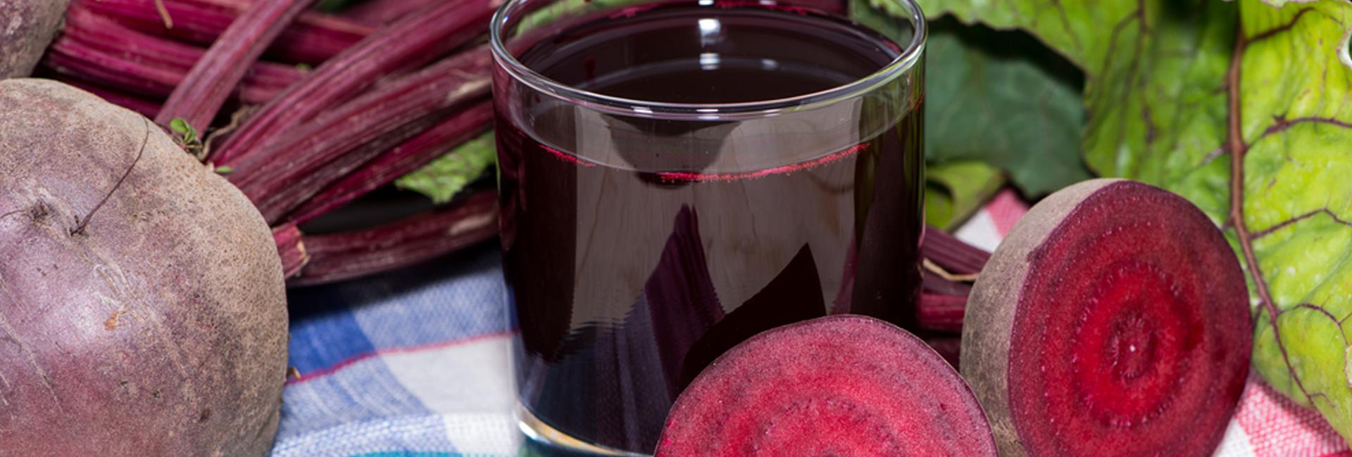 Rödbetsjuice gör nytta i magen och skyddar mot sjukdomar