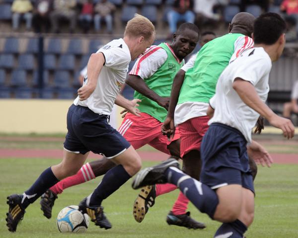 Fotboll - effektivare träning med rödbetor och lingon.