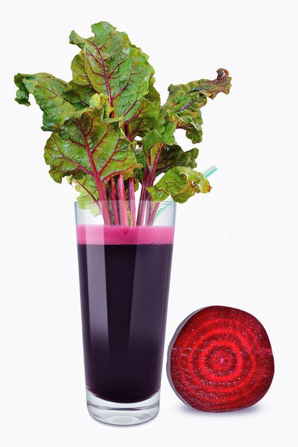 Rödbetsjuice - mät blodtrycket och anpassa kosten.